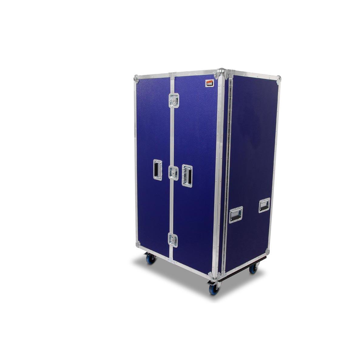 Profi Schrank Case in nachtblau Außenmaße 90x70x1585mm auf Rollen ...