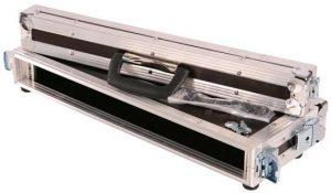 1HE Eco Rack 130mm Einbautiefe