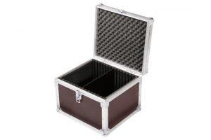 6 x Koffer für Zubehör mit variabler Trennung Nutenschaum