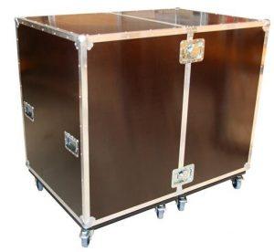 Aufklappbares Schrankcase ohne Innenausbau