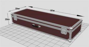 Flightcase abschließbar 130L 18H 43B