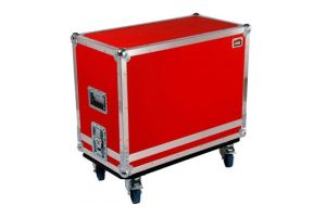 Flightcase on wheels in red for Dr. Z Z best