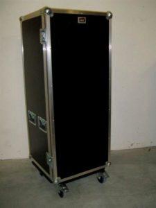 Garderoben Case auf Rollen Innenmaße L 49 H 119 T 49 cm