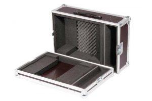 Haubenflightcase Live für BenQ SP891 Beamer + Zusatzfach