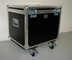 Kamera Flightcase auf Rollen