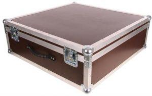 Koffer Case für Fluggerät mit den Innenmaße 75x75x25cm BxTxH