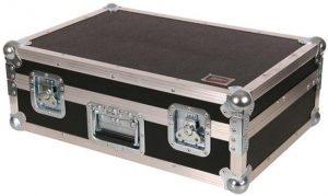 Koffercase schwarz mit Vollpolsterung 600x400x190mm BxTxH