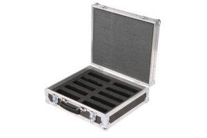Kofferflightcase Eco Innenmaße 416 x 353 x 120mm mit Inlay für Handscanner