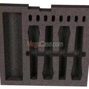 Schaumstoffeinlage für 4 Mikrofone