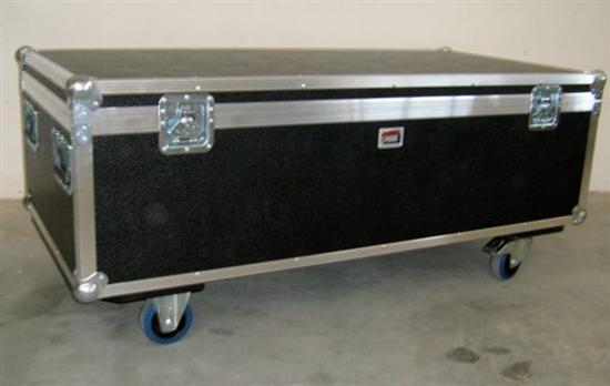 sideboard case auf rollen 123 35 58cm innenma e g nstig kaufen megacase. Black Bedroom Furniture Sets. Home Design Ideas
