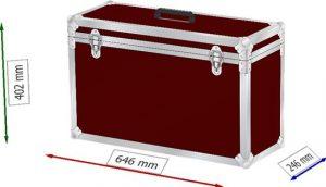 Transportcase 590x190x340mm BxTxH