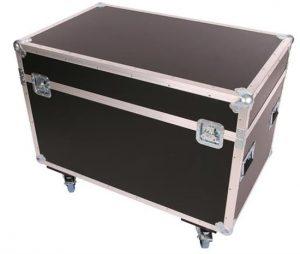 Transportcase aus Kunststoff auf Rollen 970x580x580mm BxTxH