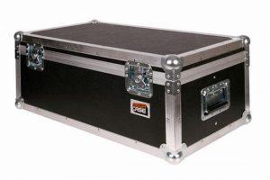Transportcase B mit hart-weich Schaumstoffpolsterung und Fachunterteilung