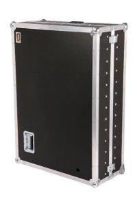 Transportkoffer PVC schwarz Eckeinbaurollen 1000x700x320