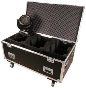 Case schwarz mit Rollen JB-Lighting A4 / 7 Sparx7 6in1