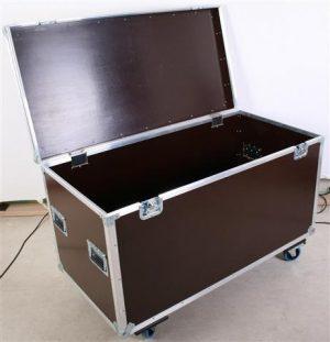 Zubehör Packcase 120cm mit Rollen gebremst Farbe schwarz