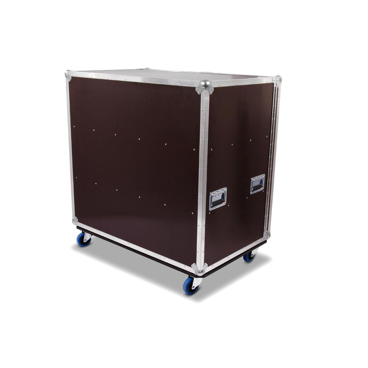 Flightcase Schrank Mit 2x Fachboden Lange 110cm Hohe 100cm Tiefe